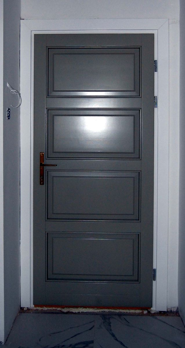 modern stílusú ajtó