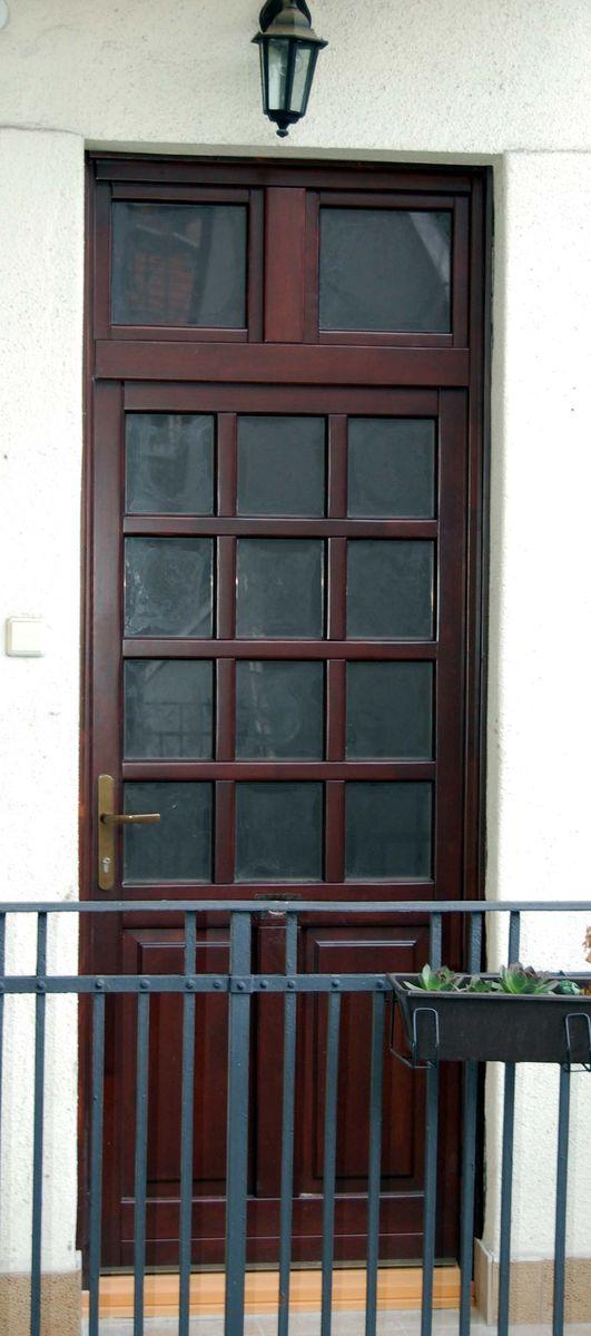 wekerle telepi bejárati ajtó