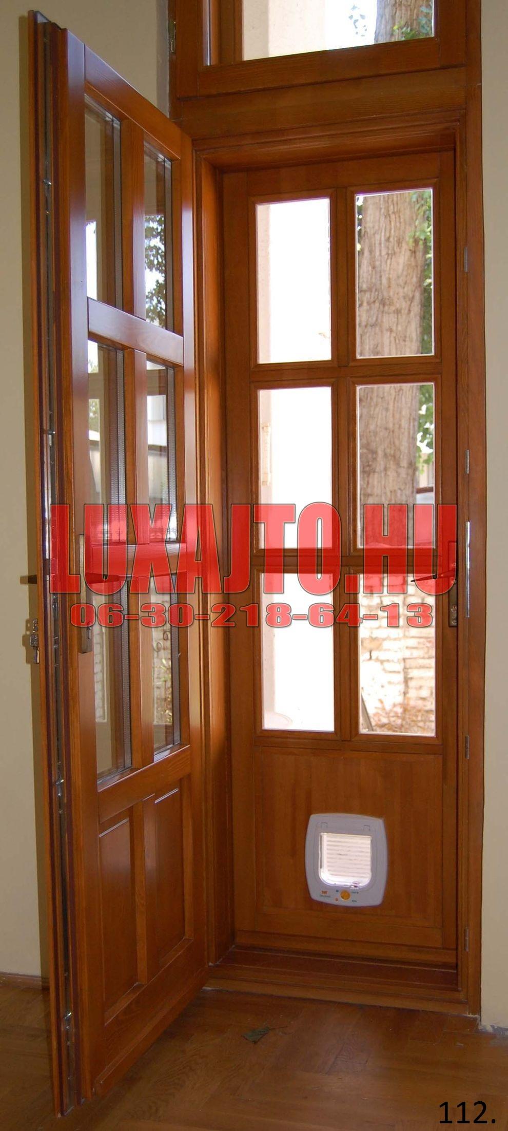 Dupla ajtós bejárati ajtó